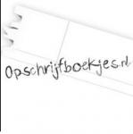 Opschrijfboekjes