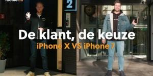 iPhone X vs iPhone 7 [Review] #9 met 538 DJ'S IVO & BAREND | De klant, de keuze | Mobiel.nl